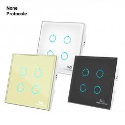 کلید چهار پل لمسی MCO HOME ساده